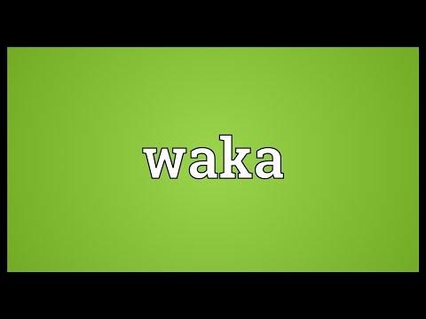 Waka Meaning