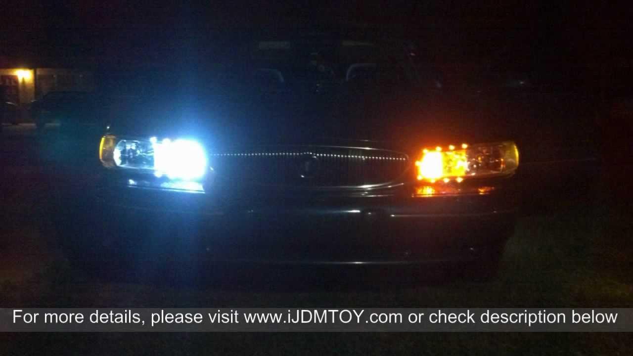 Switchback 3157 LED Turn Signal Light Bulbs On 1997 Buick ...