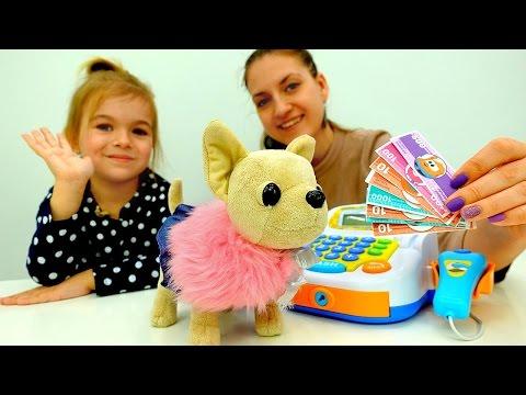 👗 Новое ПЛАТЬЕ для Собачки #ЧиЧиЛав ! Игры #одевалки Видео для девочек. Детские игрушки Chi Chi Love