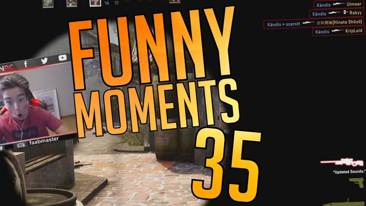 Download CS:GO - Funny Moments #35 (INSANE 360 NOSCOPE, NINJA DEFUSES & MORE)