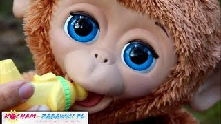 My Giggly Monkey Pet / Interaktywna Małpka Giggly - FurReal Friends - A1650 - Recenzja