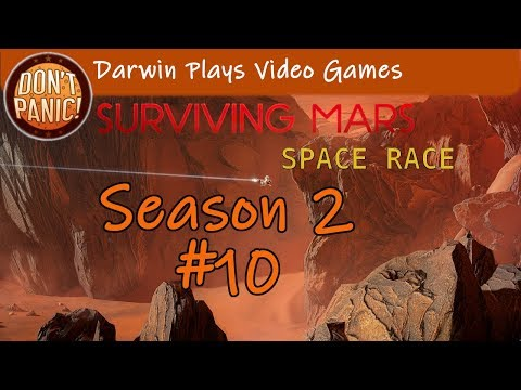 Let's Play Surviving Mars Space Race | Season 2 EP10 | Marsgate |