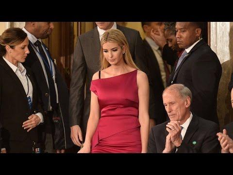 Ivanka Trump's Bra Strap Wasn't Showing During President's Congress Speech