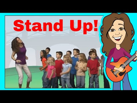 Stand Up, Sit Down Children's Song and More | Patty Shukla