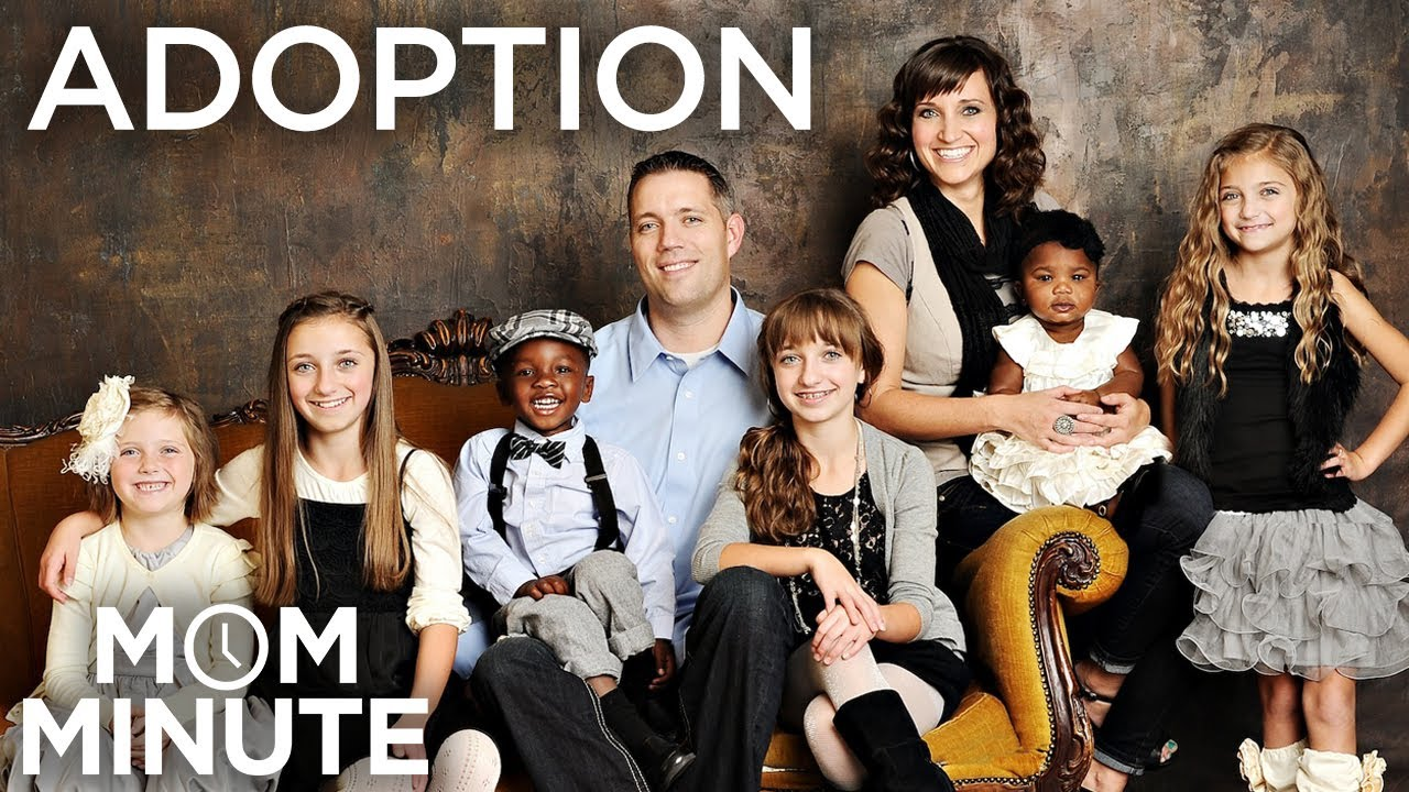 the adoption process: mom minute with mindy from cutegirlshairstyles