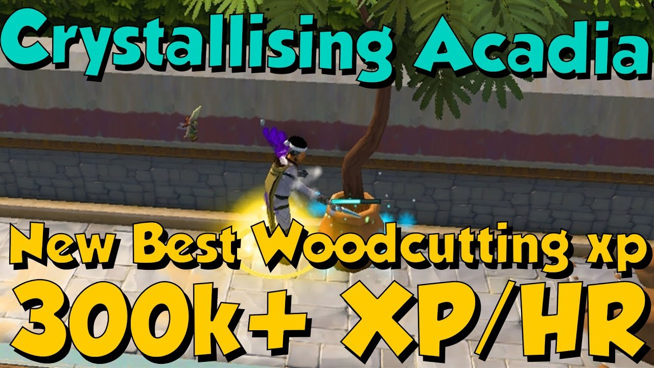 300k Xphr Crystallising Acadia Trees Runescape 3 Best