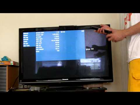 HOW TO: Get Service/ Secret RGB Menu On A Panasonic TV