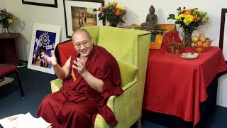 Khenpo Thubten Gongphel  - Three Visions:  Part Three -Tsechen Namdrol Ling  Santa Fe NM