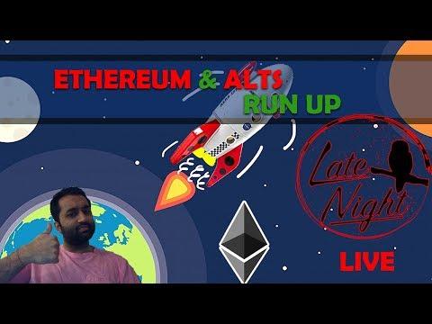 🔴 Ethereum Runs Up, Bitcoin Consolidates | Late Night Crypto Market Talk 🔥