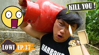 Try Not To Laugh Challenge | Taking Revenge with Gas Tank! | Comedy Videos by LOWI TV Ep.37