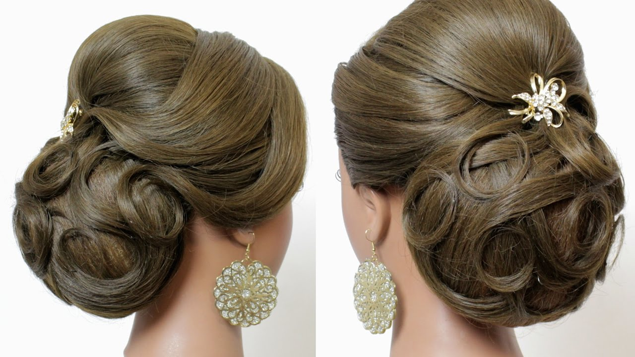 Indian wedding hairstyles tutorial bridal updo for long hair indian wedding hairstyles tutorial bridal updo for long hair youtube pmusecretfo Gallery