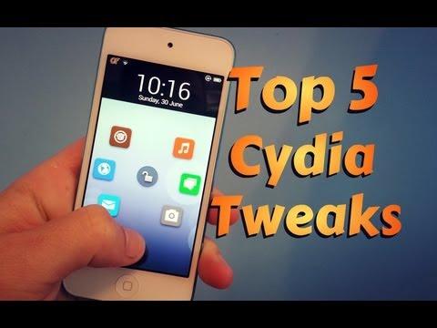 Top 5 Cydia Jailbreak Tweaks for iPhone, iPod Touch, iPad (EP. 3)