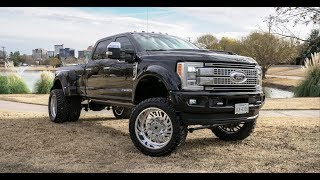 Video 2017 F450 SUPERDUTY with a 6 inch Fabtech on 24 inch Super single American Force wheels and more! download MP3, 3GP, MP4, WEBM, AVI, FLV Juli 2018