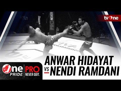 [HD] Anwar Hidayat vs Nendi Ramdani - One Pride Pro Never Quit #21