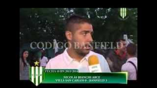 NICOLÁS BIANCHI ARCE V SAN CARLOS 0 BANFIELD 3 FECHA 18 BN 2013 2014 19 11 2013 WM9 512 Download PAL