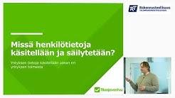 Suomen Tilaajavastuu Oy:n palvelut ja tietosuoja-asetuksen velvoitteet