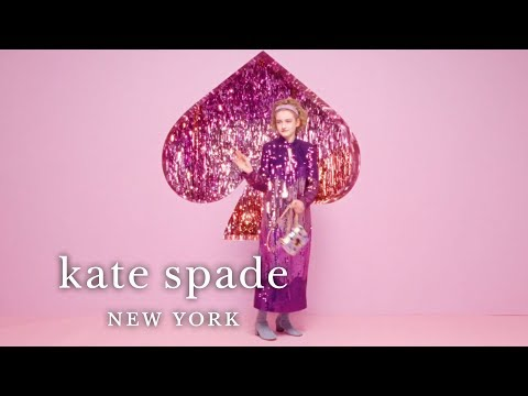 our holiday 2019 campaign starring sadie sink, kiki layne and julia garner | kate spade new York