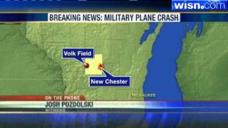 F-16 Fighter Crashes In Rural Wisconsin