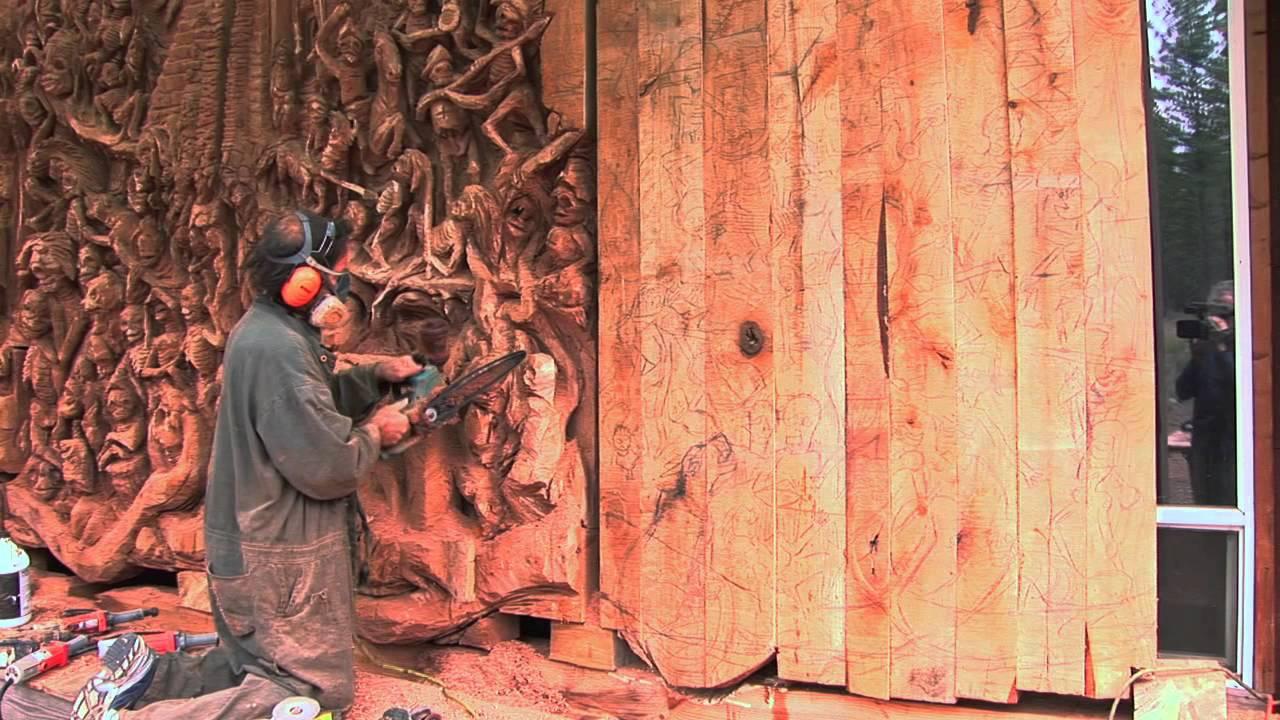 California chainsaw carver home facebook
