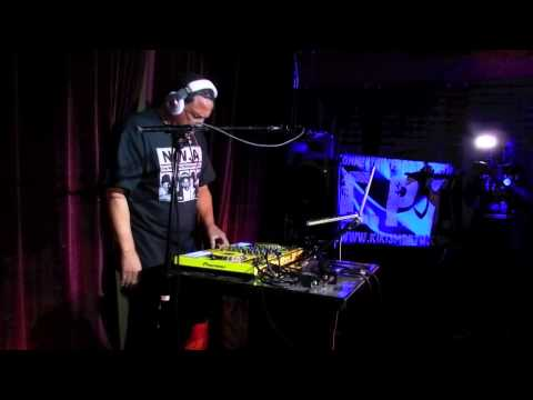 D.J. YELLA FROM N.W.A ON THE TURNTABLES EXCLUSIVE