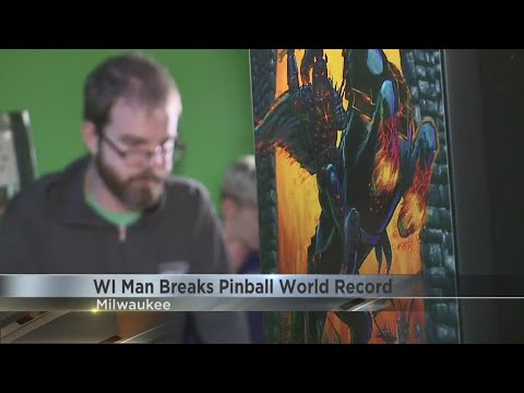 Aaron Zytle - Wisconsin Man Breaks Guinness Record For Pinball Playing