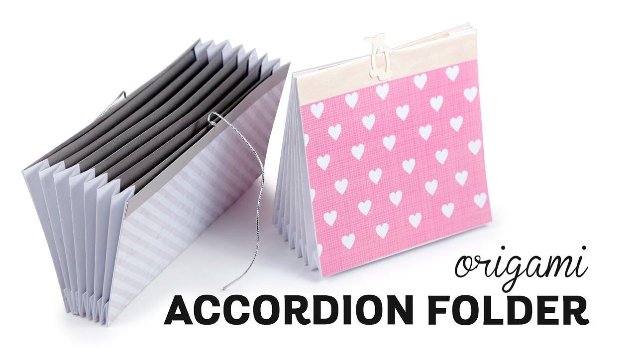 Origami Modular Accordion Box | 720x1280