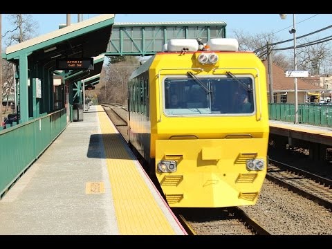 LIRR's TC82 Visit's Sayville on a Cold Afternoon