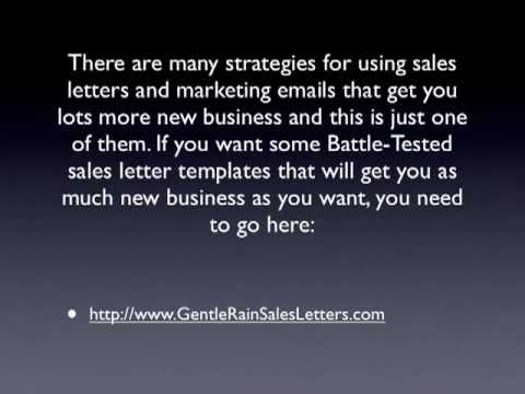 Most Successful Sales Letter By The Most Successful Sales Letter