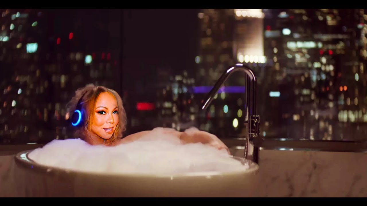RARE! Mariah Carey in Amazon Super Bowl 2018 Alexa Commercial