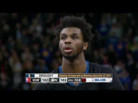 Golden State Warriors at Minnesota Timberwolves- March 10, 2017