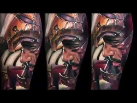 Bloodline Tattoo Inks AMAZING Tony Stark / Iron Man Tattoo