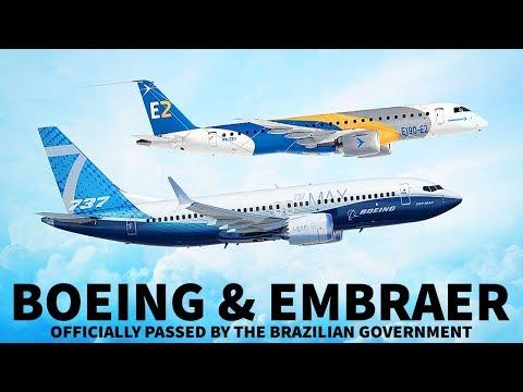 Boeing & Embraer Deal Approved