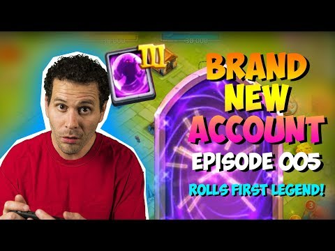 NEW ACCOUNT Episode 5: Rolling FIRST Legend!