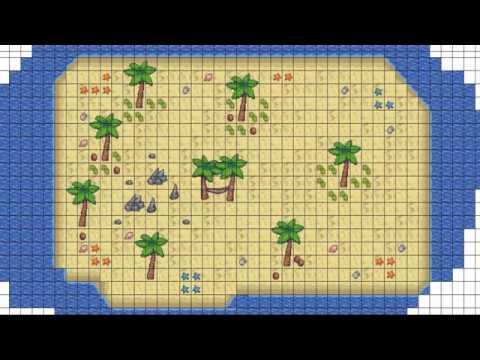 2D World Creator - Beach Timelapse