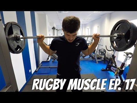 Rugby Muscle: How I train for Rugby | My Week Day 2