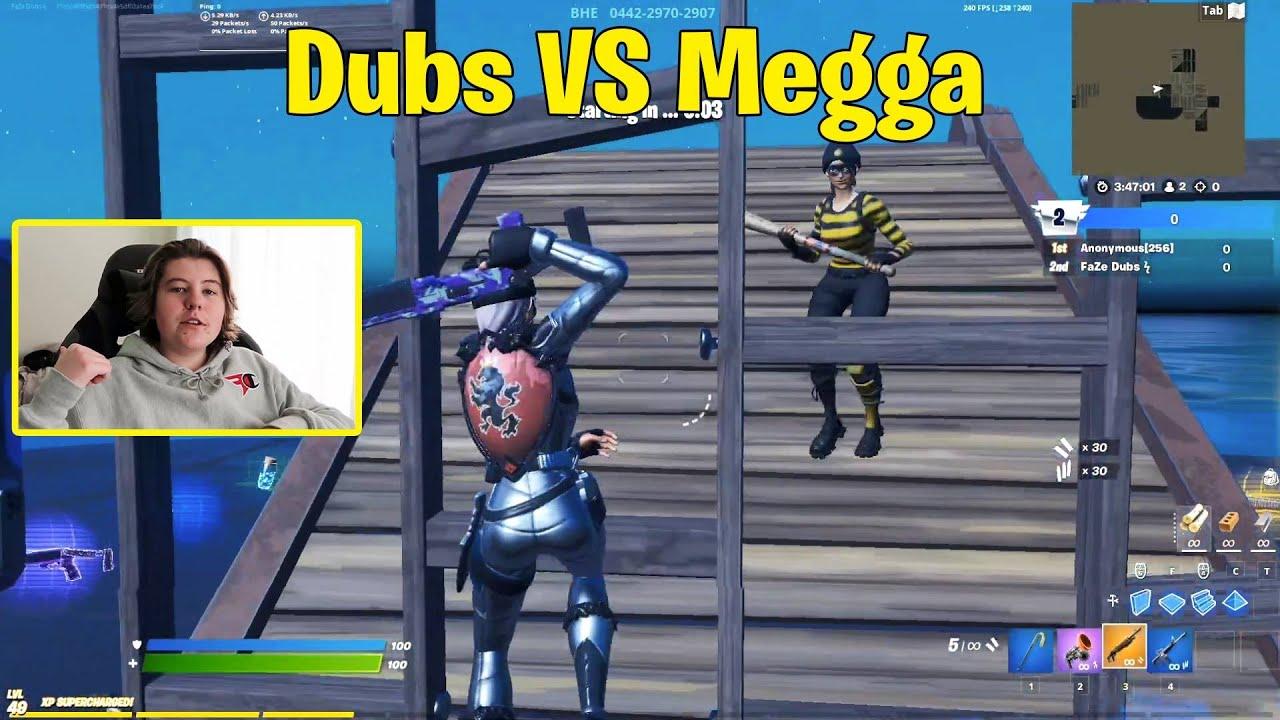 FaZe Dubs VS FaZe Megga 1v1 Buildfights