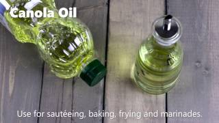 Healthy Cooking Oils 101