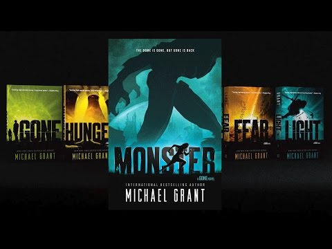 GONE Series & MONSTER By Michael Grant   Official Book Trailer