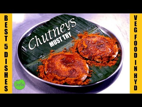 Best 5 Dishes at Chutneys Hyderabad | Best Veg Hotel in Hyderabad | Indian Food