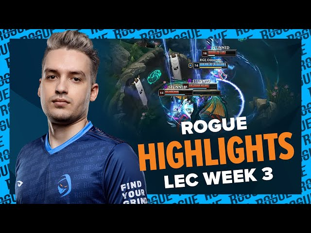 Finally a POG game for Odo | Rogue LEC Highlights [Week 3]