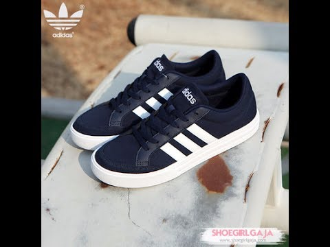 Unboxing Review sneakers Adidas VS SET AW3891 - YouTube 637dbdc046