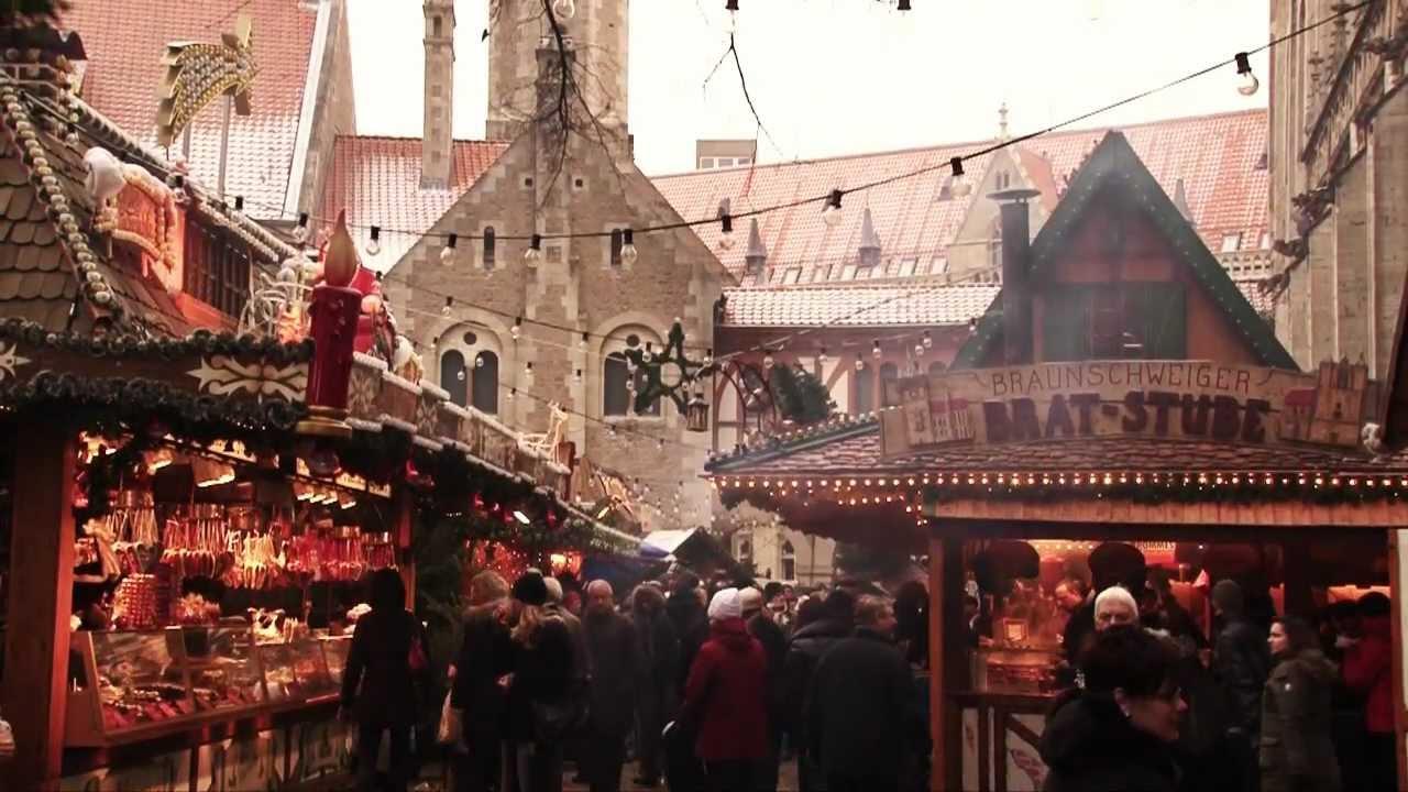Weihnachtsmarkt Braunschweig.Braunschweiger Weihnachtsmarkt Städtefilm