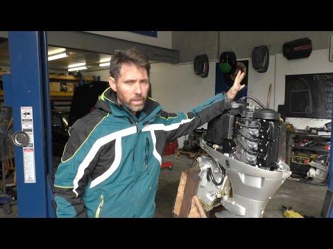 Saving a sunk Honda BF40 outboard motor