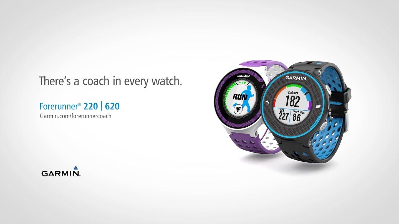 Garmin Gps Watch >> Garmin Presents -- The Long Run: Forerunner 220 and 620 - YouTube
