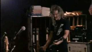 Metallica Last caress Studio jamming