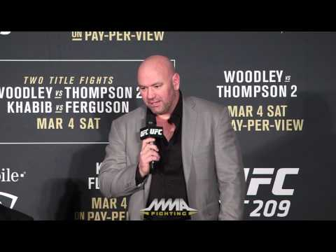 UFC 209 Post-Fight Press Conference: Alistair Overeem and Dana White