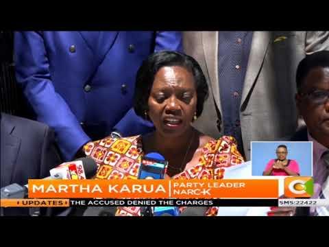 Central Kenya leaders fault Kuria
