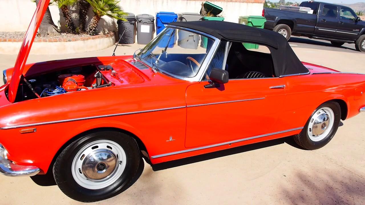 for sale 1965 fiat 1500 cabriolet spider youtube. Black Bedroom Furniture Sets. Home Design Ideas