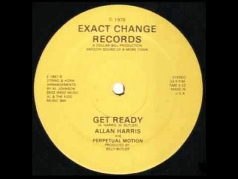 Allan Harris & Perpetual Motion - Get Ready