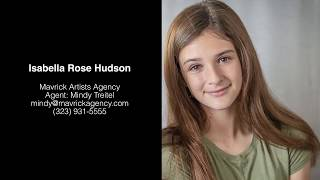 Full Reel: Isabella Hudson